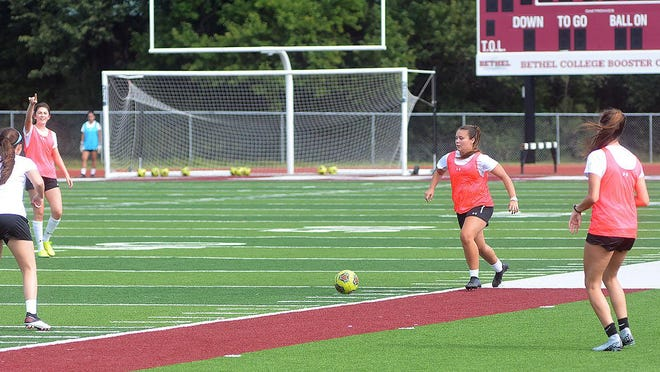 After starting fall sports practices Saturday, Bethel College has had to suspend them due to 43 confirmed COVID-19 cases among students, about half of whom are athletes. No timetable has been given for the resumption of practice. Competition is scheduled to begin in September.