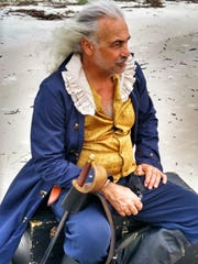 Pirate Johnny Silver — the stage name for John Paeno, owner of Calusa Ghost Tours and CGT Kayaks — will be in costume to tell stories about historical piracy in Southwest Florida from 1600 to 1750 at the Everglades Wonder Gardens on Oct. 7