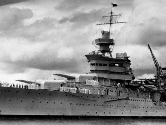 The USS Indianapolis was sunk by a Japanese submarine on July 30, 1945.