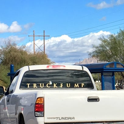 When it comes to profanity, this truck in a Tucson