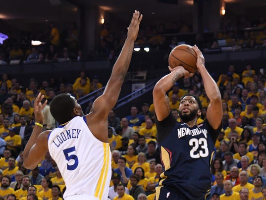 NBA: Playoffs-New Orleans Pelicans at Golden State Warriors
