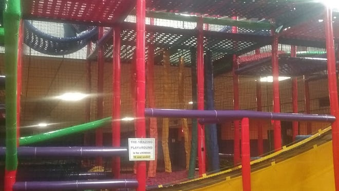 Magic Wheels' new indoor playground.