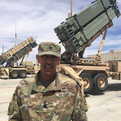 Lt. Col. Haileyesus Bairu 'on cloud nine' about serving as Legion commander at Fort Bliss