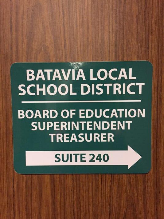 Batavia Schools sign photo