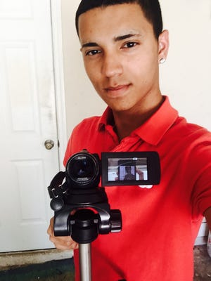 Francisco Franco's video on distracted driving is one of 10 finalists in a national contest. The Cape Coral resident and North Fort Myers High School student made the video using a fellow student as the talent.