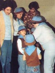 David Andreatta becomes a Beaver circa 1980 as his
