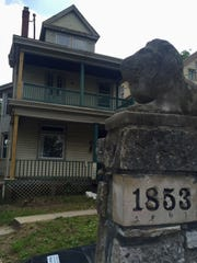 The property at 1853 Kinney Ave. belongs to Melanie