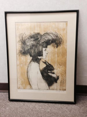 """A piece called """"Nancy"""" by the late Bill Ellingson will be on display Friday during the St. Cloud Art Crawl. Visual Arts Minnesota will handle the sale of his pieces during the art fair."""