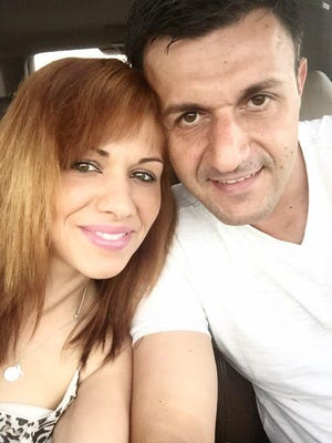 Mevlida Dzananovic and Mersed Dautovic, a former Des Moines police officer, take a selfie during a trip to Chicago shortly before both were found dead in a garage near Dautovic's Urbandale apartment.