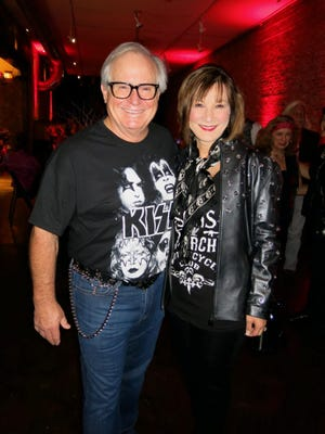 Dr. Larry and Lori Allen at Debutante Biker Chic Party.