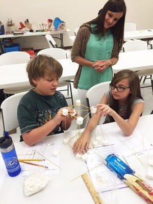 Kids at William Carey's Creativity Exploration Camp