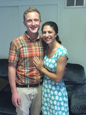 Jed Wardecke drove Anne Gates to the Pope John Paul Retreat Center on South 8th Street and asked her to be his wife.
