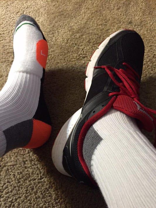 sock shot