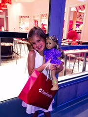 Peyton Hellmer, 5, of Scottsdale, got her doll a new