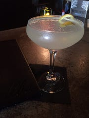 The Gin and Sage Lemonade at Alba.