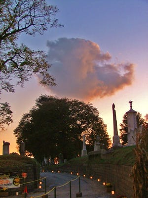 Hunt for ghosts at Laurel Hill Cemetery in Philadelphia this weekend.