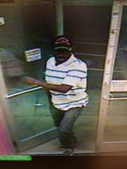 The man was seen on Sept. 27 driving a Honda CRV reported stolen. He was later involved in a motor vehicle collision and fled the scene.