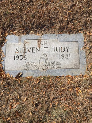 In search of the grave of an Indianapolis war veteran and baseball legend, columnist first finds the grave of Steven T. Judy.