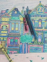 Crafts-Adult Coloring Books