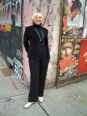 Dancer Brenda Bufalino performs Friday at Unison Arts Center in New Paltz.