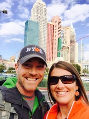 Ryan and Samantha Wood have brought their guts to Vegas.