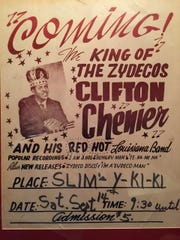 Clifton Chenier, the late King of Zydeco, are among the Grammy winners who have performed at Slim's Y-Ki-Kin in Opelousas.