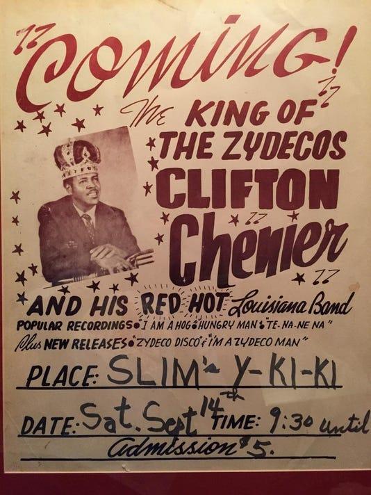 CliftonChenierPoster jpg