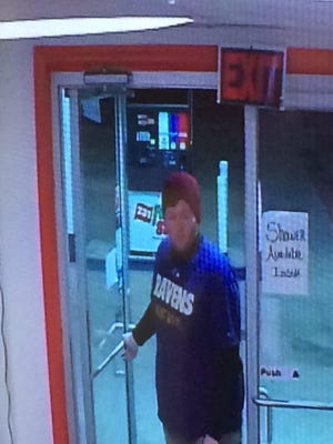 A Pike Road robbery suspect.