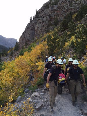 Rocky Mountain National Park Search and Rescue teams yearly perform hundreds of operations in the park.
