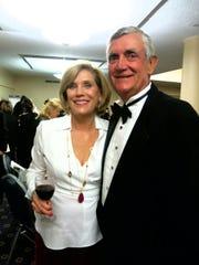 Sue and Al Wyche at Little Theatre Gala.