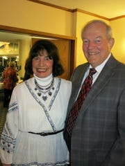 Bill and Martha Smith at Little Theatre Gala.