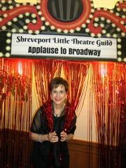 Roxanne Bosserman at Little Theatre Gala.