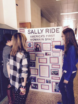 One student's History Day project shares the story of Sally Ride.