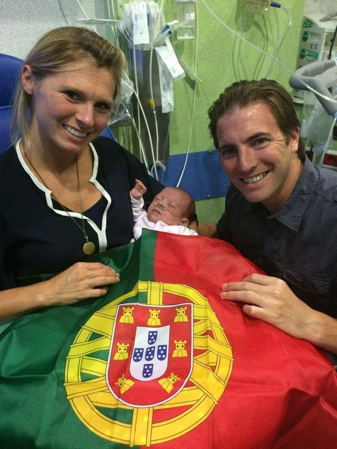 The Spratt family has fond memories of the care their daughter received in Portugal.
