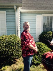 Larry Drummond watched the wreck unfold and end in his front yard on Warrior Way.