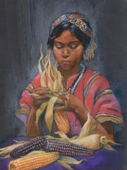 """Corn Maiden"" by Carolyn Bunch"