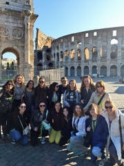 Fourteen Westfield High School students had the opportunity to gain a deeper appreciation of the culture and language that they have been studying in school this spring.  During a trip to Italy