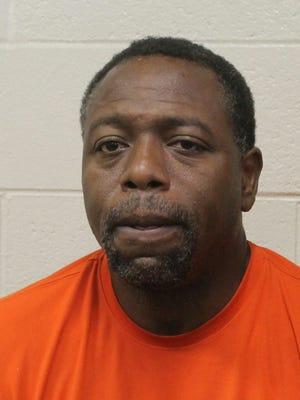 Assault suspect Derrick James Wynn.