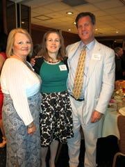 Shreveort Bar Assoc. Dana Southern and Mrs. Steve beasley and hubby, Judge Steve Beasley at Inn of Court awards program.