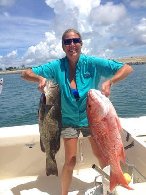 To the disappointment of many Atlantic Coast anglers like Pam Murphy of Melbourne who took her red snapper and a grouper during a 2014 mini-season, all red snapper seasons were cancelled again this year, a repeat of 2015, because federal officials say the number of dead discards exceeded the annual quota of 114,000 fish.