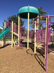 Young Park includes three areas with playground equipment.