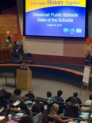Friday was Cincinnati Public Schools' State of the Schools Address.