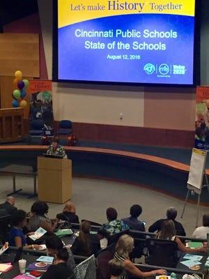 Friday was Cincinnati Public Schools' State of the Schools Address.