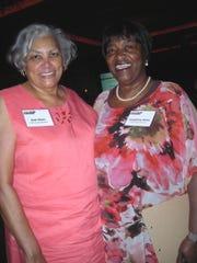 E. Jean  Ware, Josephine Miles at YWCA Luncheon.