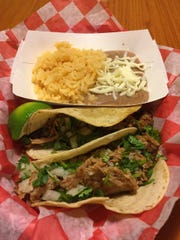 Barbacoa and carnitas are two of the most popular tacos at El Taco in Anderson.