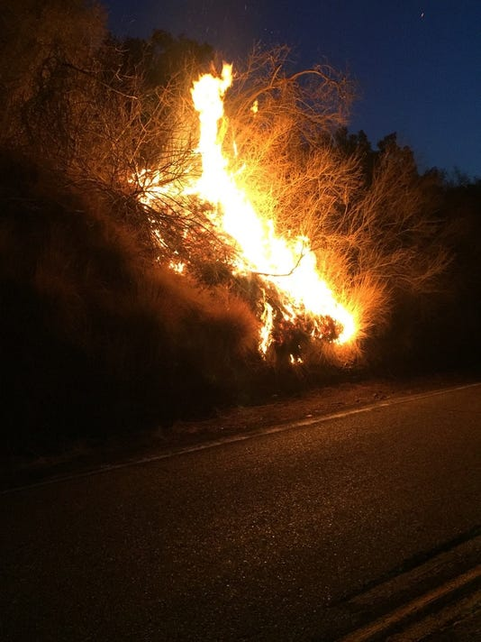 Casitas fire 1