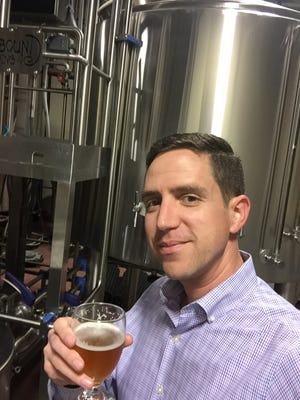 Jason Carty, new executive director of the Garden State Craft Brewers Guild.