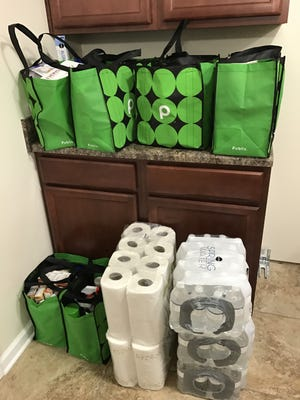 Publix Super Market Charities stocked the pantry of the Habitat for Humanity home they sponsored.