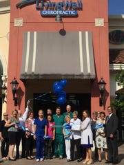 Living Well Chiropractic holds a ribbon-cutting ceremony
