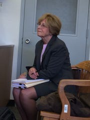 Special master planner Elizabeth McKenzie waits to testify at Thursday's hearing on Ho-Ho-Kus's affordable housing.